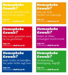Flyer Homophobie