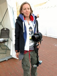 Sie macht unter anderem Lesbenfilme.