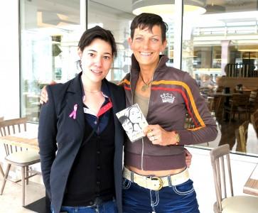 Chantal Genoud und Lucia Lommel