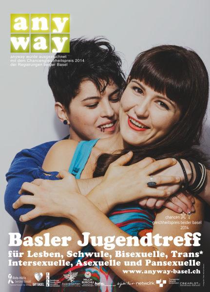 Beispiel einer Kampagne aus Basel für Toleranz gegenüber Queers