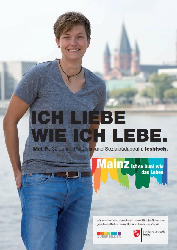 Beispiel einer Antidiskriminierungskampagne der Stadt Mainz