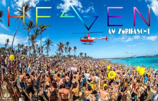Heaven am Züri Fäscht verspricht eine gigantische Openair Party mit bekannten Music Acts und heisser Stimmung