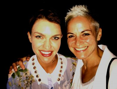Ruby Rose and DJ Blues