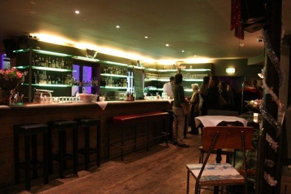 Die Bar in der Kaufleuten Lounge