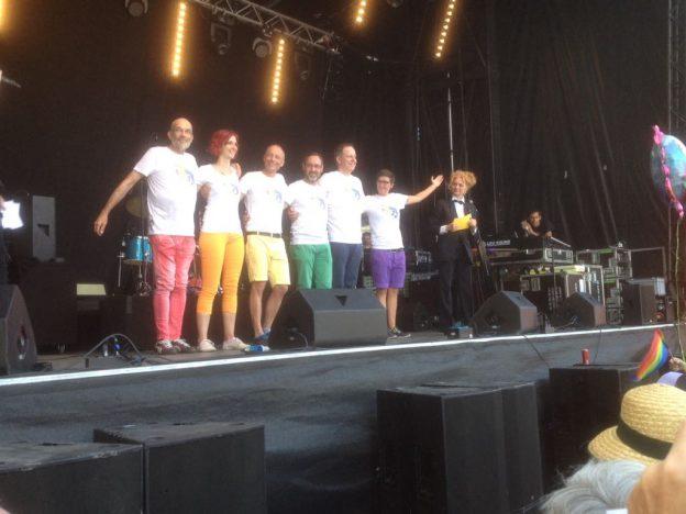Das Organisationskomitee der Pride Ouest 2017