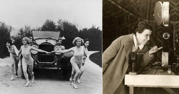 Dorothy Arzner (Regisseurin) und Marion Morgan (Choreografin) in den 1930er Jahren