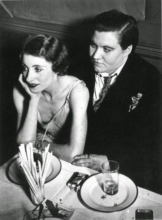 lesbisches Paar in den 30er Jahren