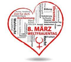 WEltfrauentag mit Herz 2018