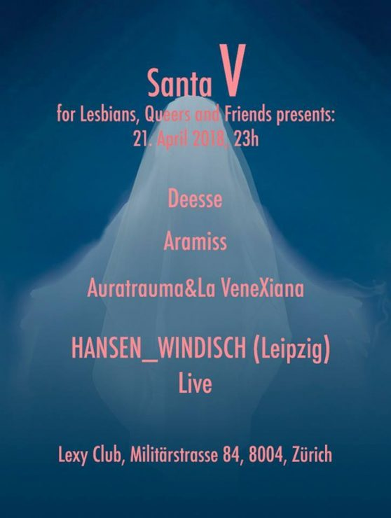 DIE PARTY für Lesbians, Queers and Friends. Definitiv steht Santa V für coole Parties für Femmes und Friends.