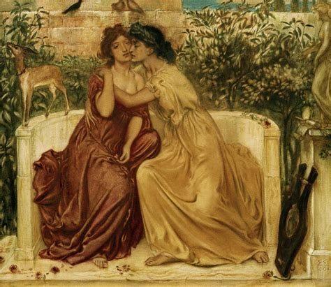 Lesbische Liebe Gemälde