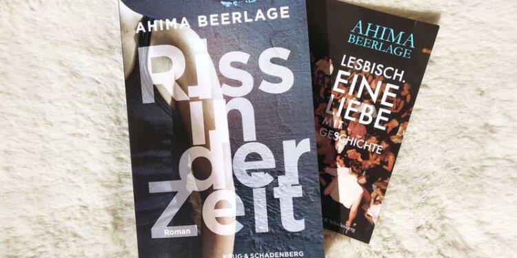 ahima-beerlage-riss-in-der-zeit-krug-schadenberg-lesbischer-roman-buch